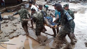 Kolumbia: 154 ofiary śmiertelne powodzi na południu kraju