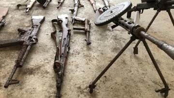 Granaty, karabiny maszynowe, amunicja. Posiadacze nielegalnego zbioru broni aresztowani