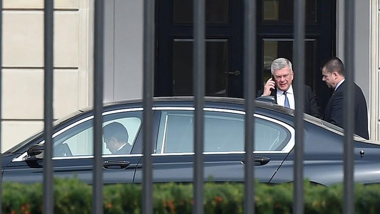 Prezydent spotkał się z marszałkiem Senatu ws. referendum