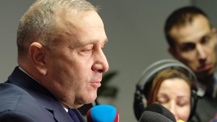 """Schetyna o rekonstrukcji rządu: zmienia się """"kukiełka"""", rządzić będzie dalej Kaczyński"""