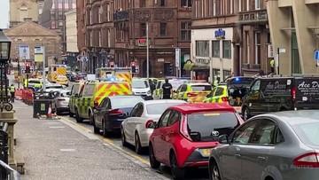 Atak nożownika w Glasgow. Ranny policjant, są ofiary śmiertelne
