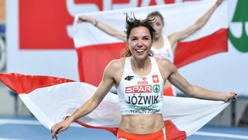 Joanna Jóźwik: To świetne uczucie biegać z flagą po zdobyciu medalu