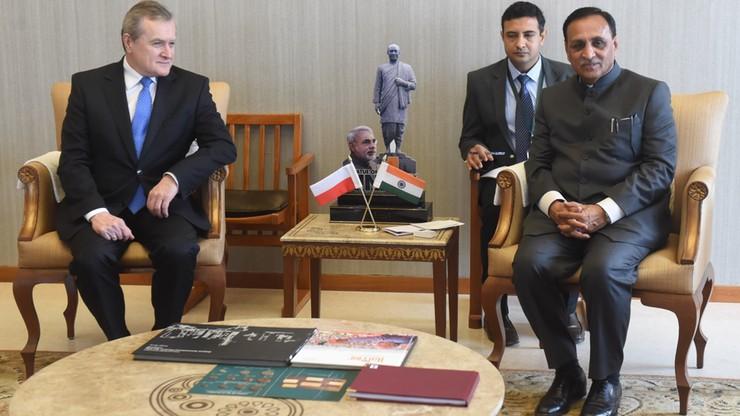 Wicepremier Gliński z wizytą w Indiach