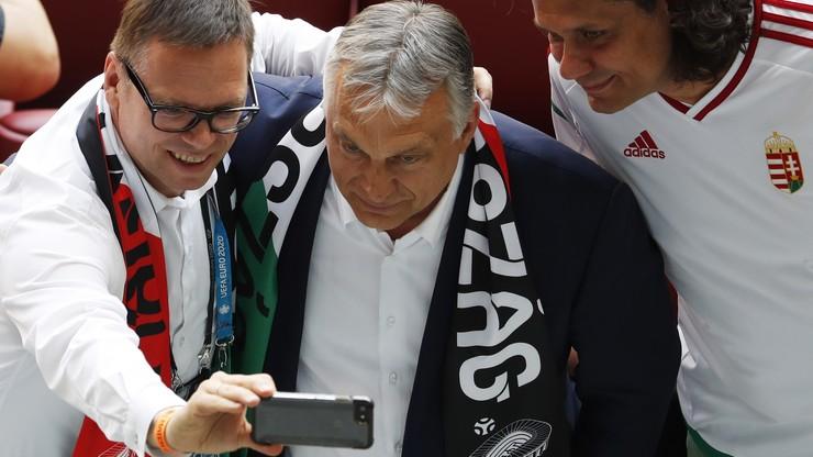 Co z wyjazdem Orbana na mecz Euro? W tle sprawa tęczowego stadionu