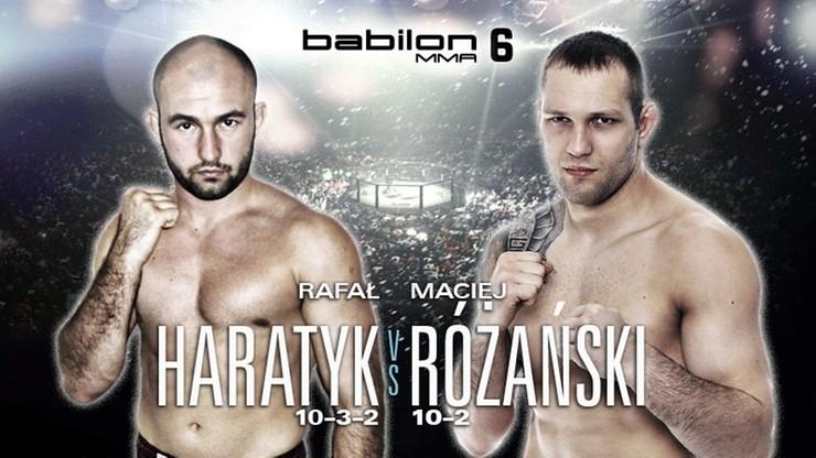 Babilon MMA 6: Znamy bohaterów drugiej walki wieczoru