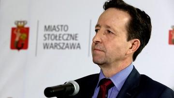"""""""Próba robienia polityki na ludzkiej krzywdzie"""". Warszawski ratusz o postulacie PiS dot. zdymisjonowaniu Pahla"""