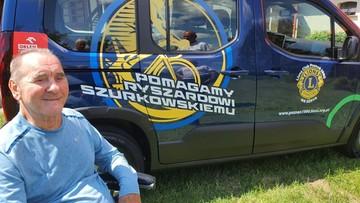 Samochód dla Ryszarda Szurkowskiego. Cel osiągnięty, auto przekazane