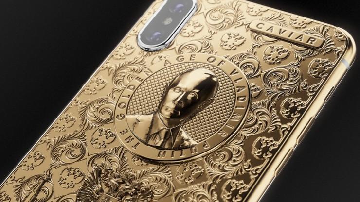 Luksusowe iPhone'y ku czci wyborczego zwycięstwa Putina. Golden Age i Black Alligatore