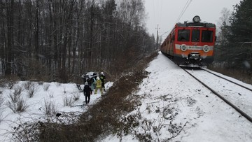 Jeden pociąg miał dwa wypadki na różnych przejazdach. W ten sam dzień