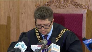 Pełnomocnicy sędziego Łączewskiego chcą, by sąd zwrócił się do Trybunału UE