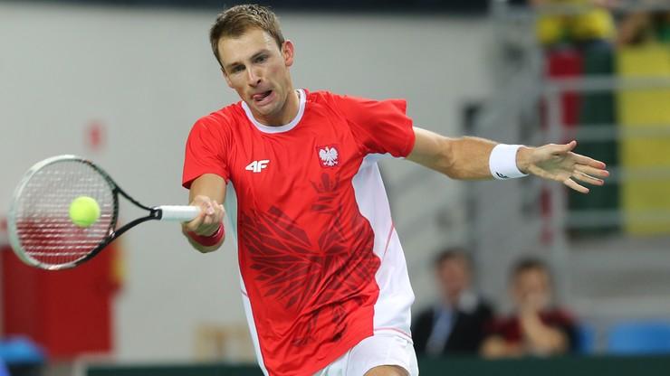 Puchar Davisa: Łukasz Kubot zagra w Kaliszu przeciwko Salwadorowi