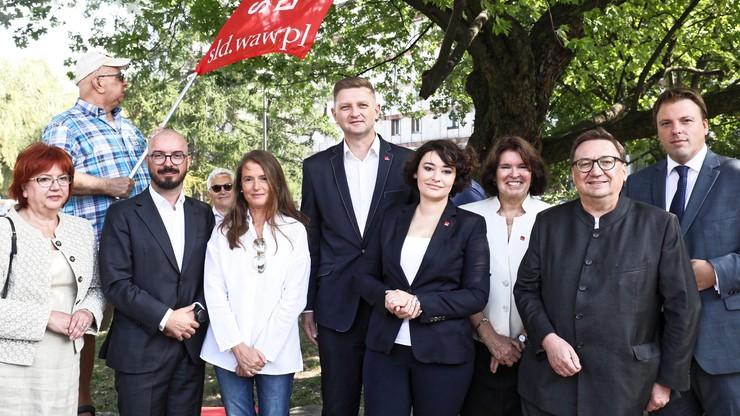 """SLD przedstawił """"jedynki"""" wyborcze w Warszawie. Wśród nich m.in. Monika Jaruzelska i Jan Hartman"""