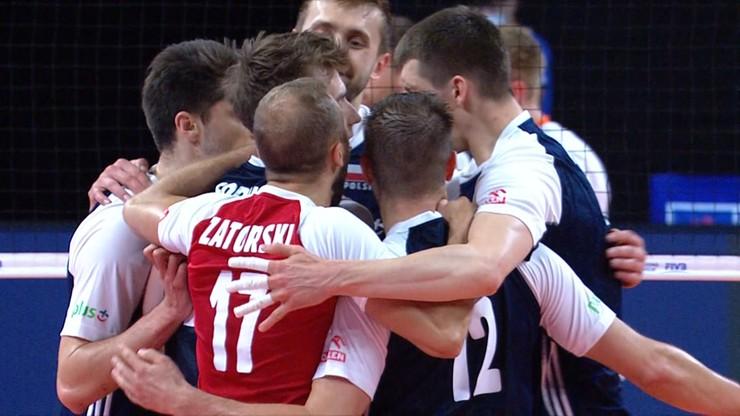 Liga Narodów: Zdecydowane zwycięstwo polskich siatkarzy w meczu z Holandią