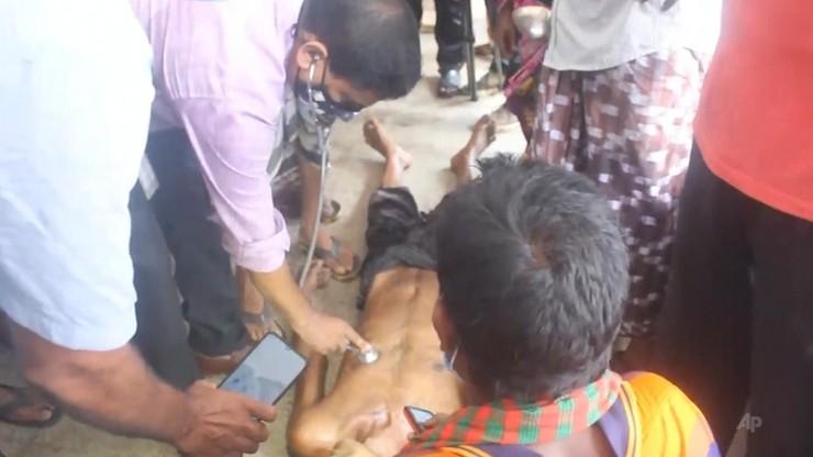 Bangladesz. Piorun raził weselników. 17 osób nie żyje