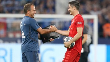 Flick wyrównał rekord Heynckesa. Czy Lewandowski pomoże mu go pobić?