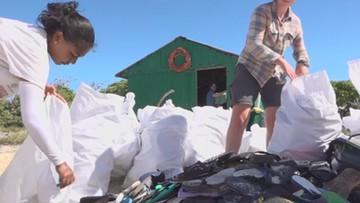 Wyspy należące do Republiki Seszeli toną w plastiku
