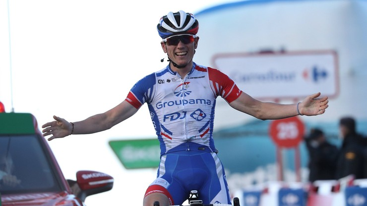 Vuelta a Espana: David Gaudu wygrał etap, Roglic obronił koszulkę lidera