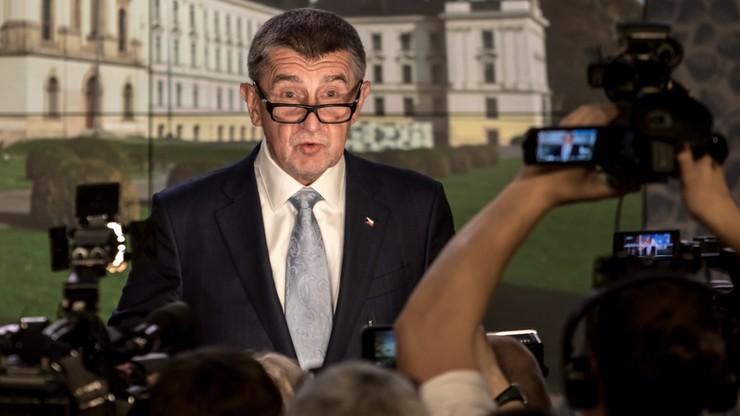 Premier Czech: syn był na Krymie, ale nie był porwany