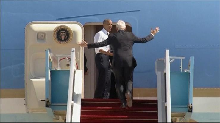 Obama: Bill! Chodź, zabiorę cię do domu!