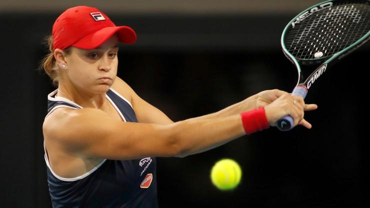 WTA w Adelajdzie: Barty w finale z Jastremską