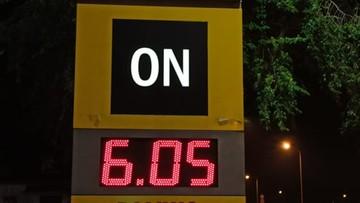 Cena za litr oleju napędowego przebiła psychologiczną barierę