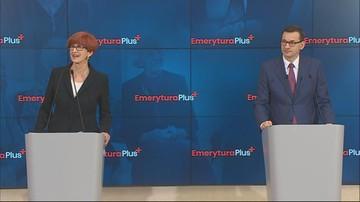 Emerytura plus. Rząd przyjął projekt ustawy. Dodatkowe 1100 zł brutto od maja