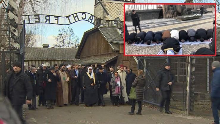Muzułmanie i Żydzi spotkali się w Auschwitz. Mocne słowa saudyjskiego duchownego