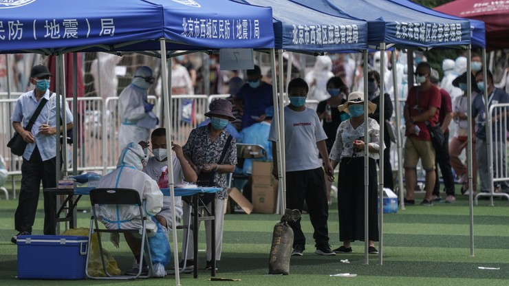 Nowe ognisko koronawirusa w Pekinie. Zamknięto obiekty sportowe i kulturalne