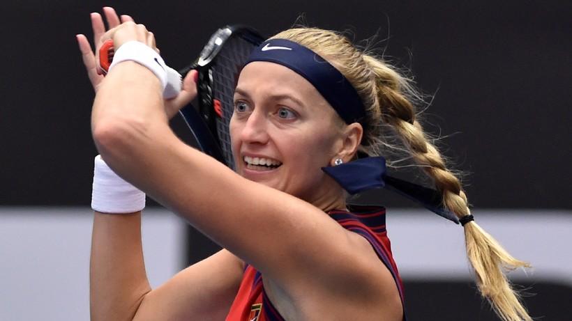 WTA w Ostrawie: Petra Kvitova i Anett Kontaveit uzupełniły stawkę półfinalistek