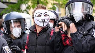 """Protest w Berlinie przeciwko obostrzeniom. """"Bez wolności wszystko jest niczym"""""""