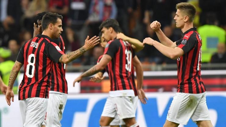 AC Milan wraca do gry o Ligę Mistrzów. Pojedynek Polaków dla Piątka