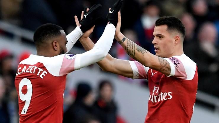 Premier League: Arsenal ograł Manchester United i wyprzedził go w tabeli