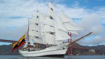 Żaglowiec przechwycił łódź podwodną przemytników narkotyków
