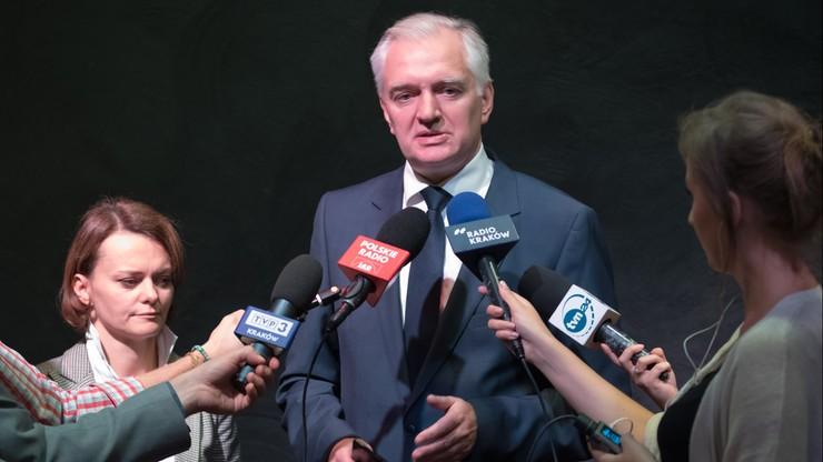 """Gowin zarekomendował kandydatkę Polski Razem na prezydent Krakowa. """"Nie jest uzgodniona z PiS"""""""