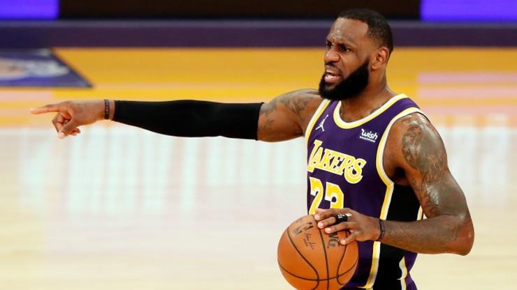 NBA: LeBron James osiągnął granicę 35 tys. punktów. Lakers przegrali z Nets