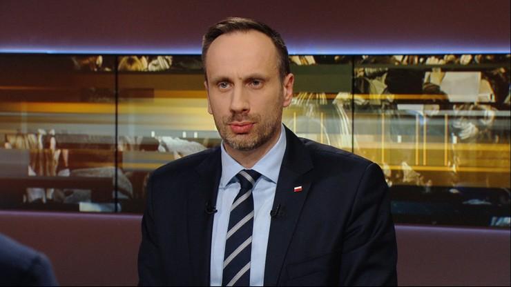 Wiceminister Janusz Kowalski: mam w nosie tych 60 profesorów, bo ja jestem za Polakami