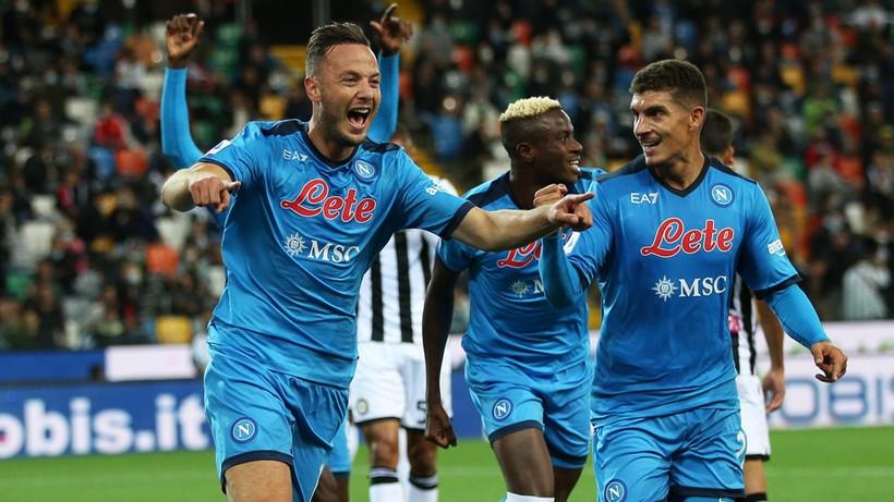 Serie A: Napoli liderem. Zespół Piotra Zielińskiego ciągle nie stracił punktów