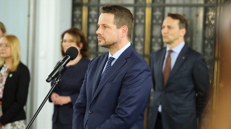 Trzaskowski: idę bić się o silną i demokratyczną Polskę