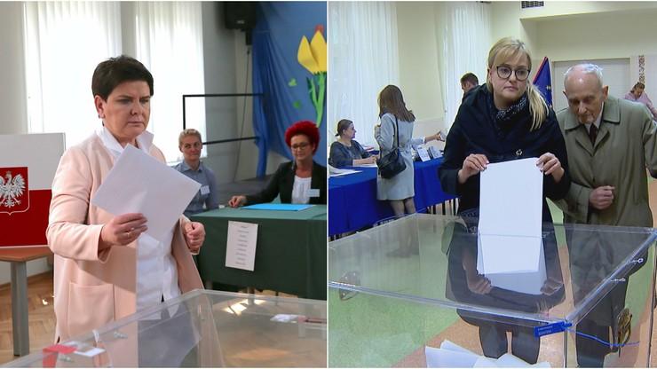 Szydło, Adamowicz, Buzek, Wiśniewska. To oni prawdopodobnie zostaną europosłami. Sprawdź listę
