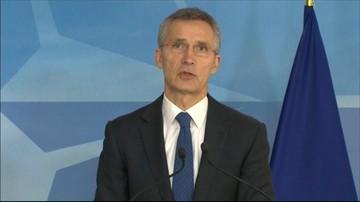 Eskalacja konfliktu w Donbasie. Szef NATO wzywa Rosję do działania