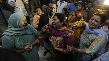Pakistan: atak bombowy w Lahore. Dziesiątki ofiar, trzystu rannych