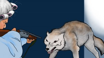 USA: babcia ze strzelbą, czyli znane bajki według entuzjastów broni