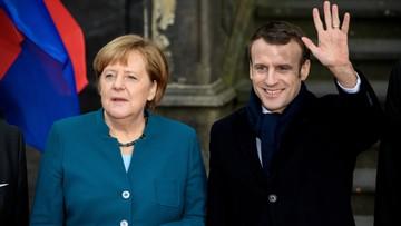 """Merkel i Macron podpisali nowy traktat o współpracy. """"Mało ambitny, ale potrzebny"""""""