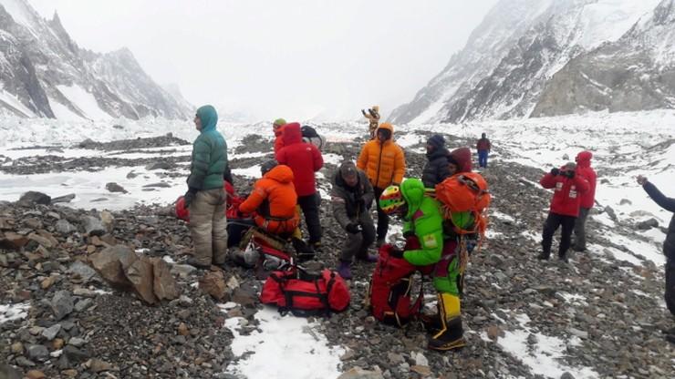Kolejne zdjęcia z akcji ratunkowej pod Nanga Parbat!