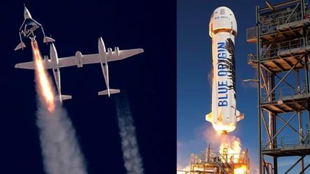 Elon Musk, Jeff Bezos i Richard Branson pokazali, że USA rządzi w kosmosie