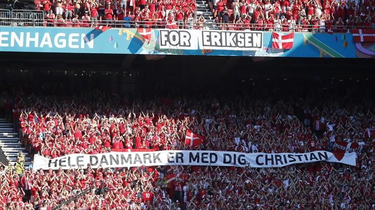 Wspaniały gest w meczu Dania - Belgia! Przerwali spotkanie dla Christiana Eriksena