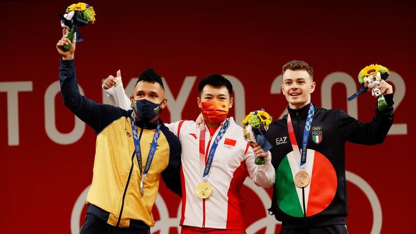 Tokio 2020: Lijun Chen mistrzem olimpijskim w podnoszeniu ciężarów w kategorii 67 kg