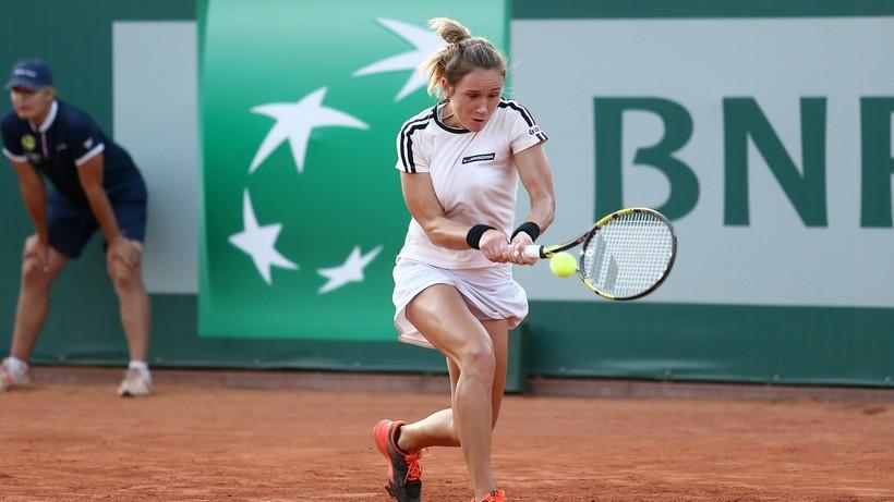 WTA w Gdyni: Katarzyna Kawa przegrała w ćwierćfinale