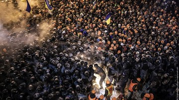 Ukraina: sprawcy pierwszych zabójstw na Majdanie wciąż nieznani