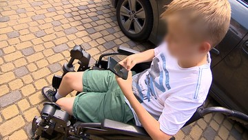 Szokujące sceny na stacji paliw. Zaatakował niepełnosprawnego chłopca